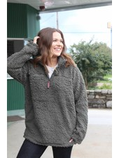 Live Oak Solid Olive Fleece