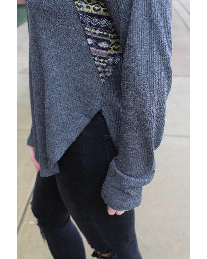 Fall leaves crochet sweater 80088H