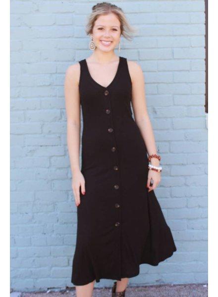 Peach Love Tonya Button Down Mini Dress KD72959