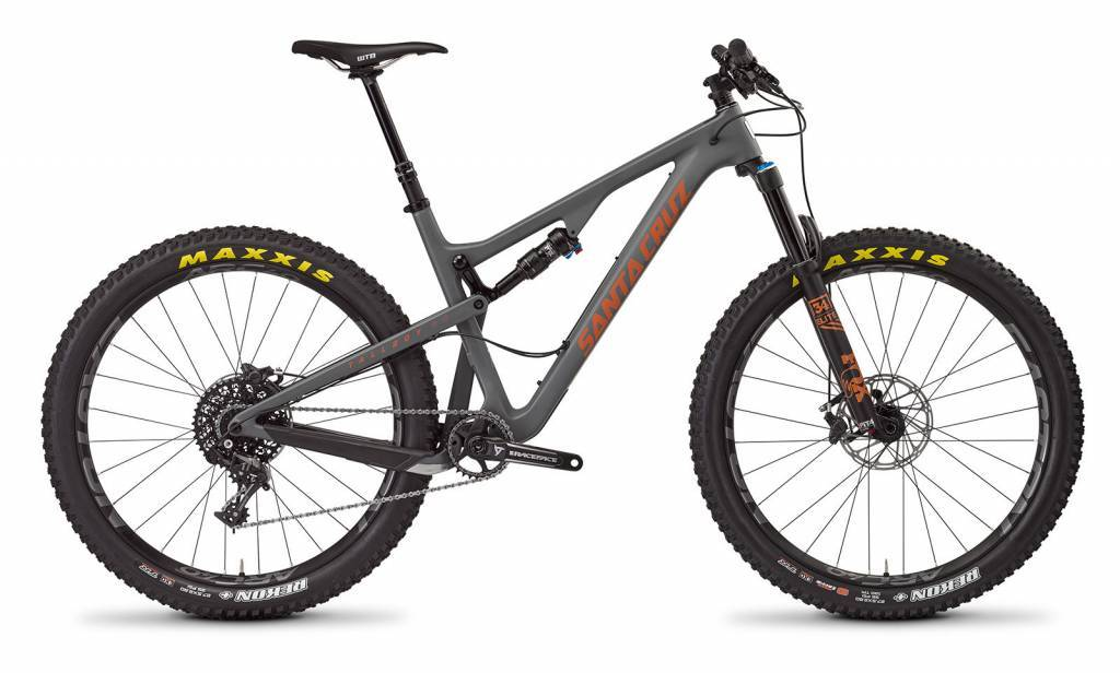 2017 Santa Cruz Tallboy C S-AM Med Matte Black