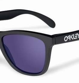 Oakley Frogskins Matte Black w/ Violet Iridium