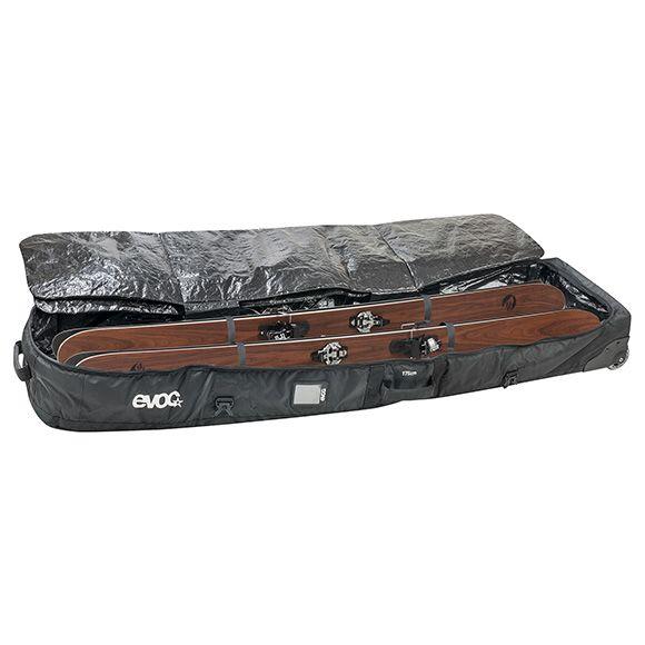 EVOC, Snow Gear Roller, Snowboard transport bag with wheels, Black, XL, 198cm
