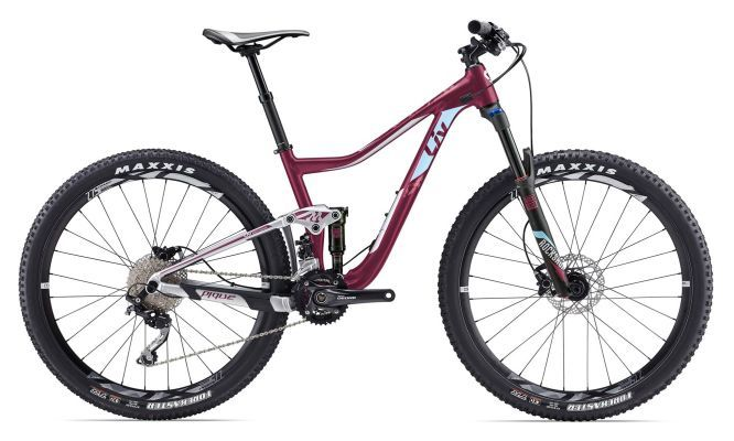 2018 Giant Pique 3 Dark Red