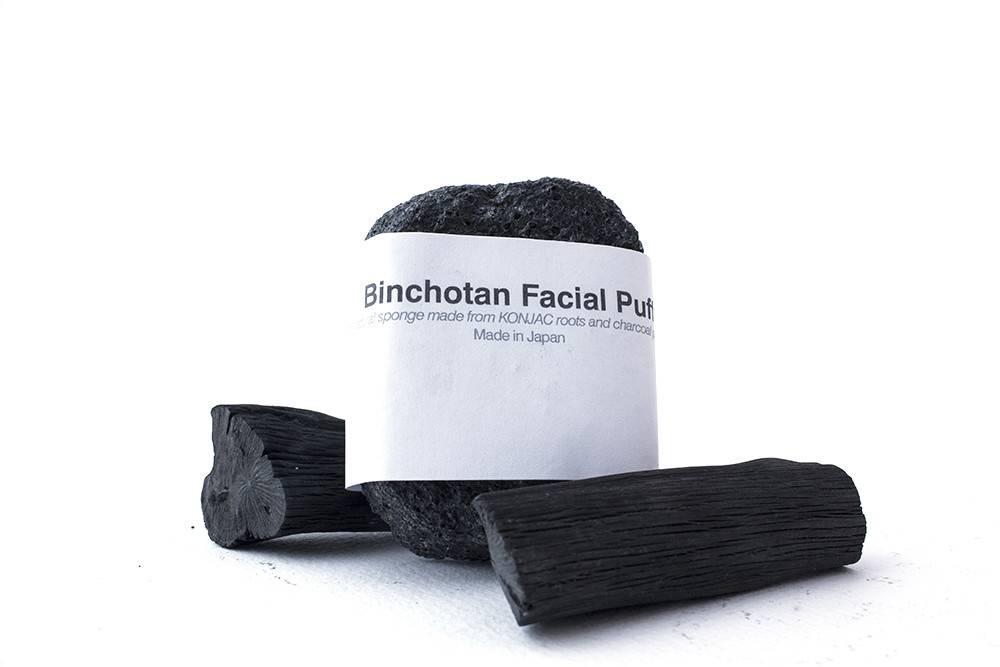 Morihata Morihata Binchotan Charcoal Facial Puff