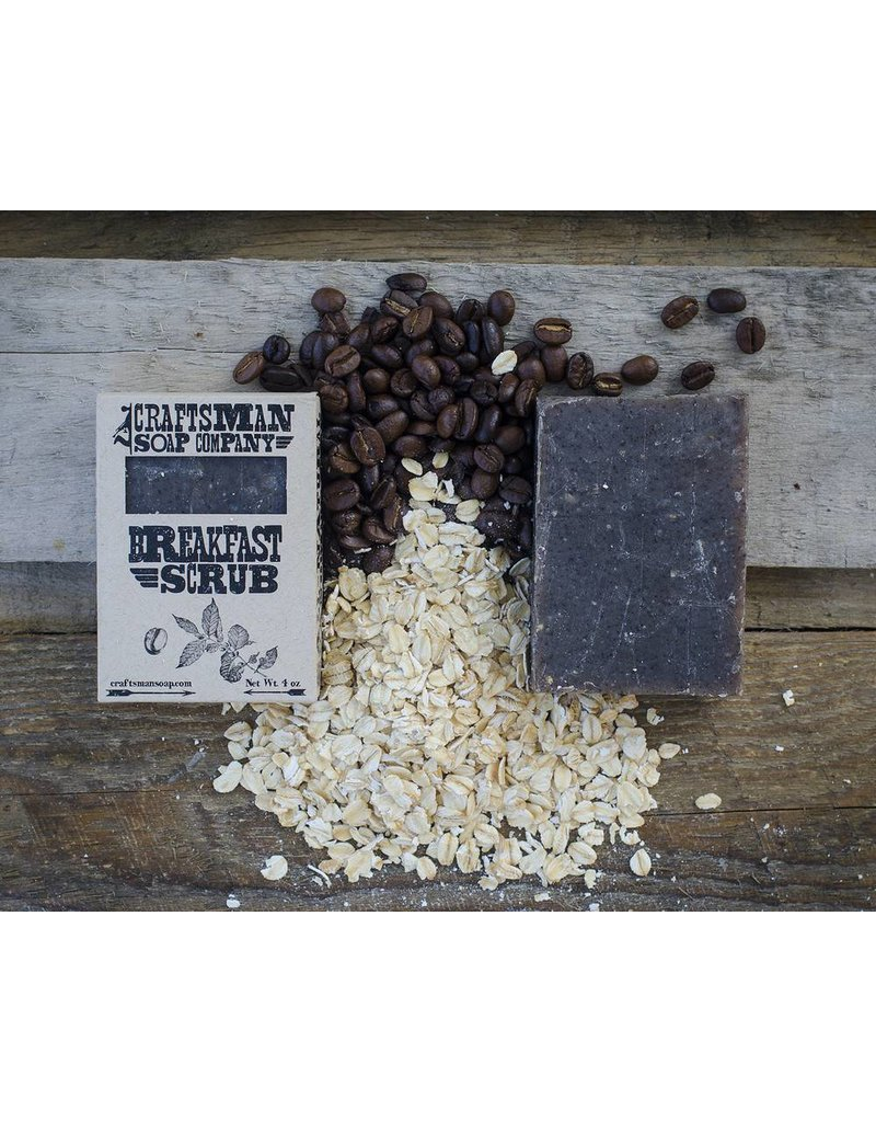 Craftsman Soap Co Craftsman Breakfast Scrub Soap