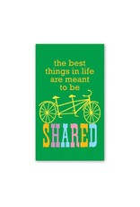 Rock Scissor Paper Rock Scissor Paper Tandem Bike - Enclosure Card