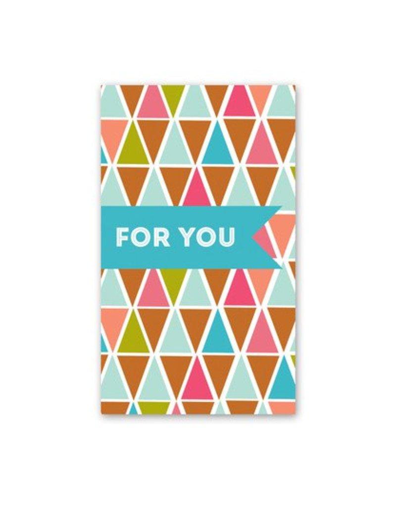 Rock Scissor Paper Rock Scissor Paper For You Triangles - Enclosure Card