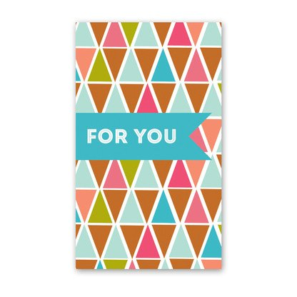 Rock Scissor Paper Rock Scissor Paper For You Triangles - Enclosure Card