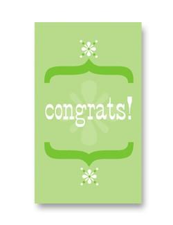 Rock Scissor Paper Rock Scissor Paper Congrats - Enclosure Card