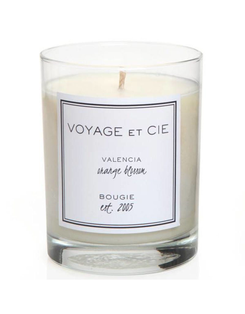 Voyage et Cie Voyage et Cie Valencia - Orange Blossom Candle Black Box
