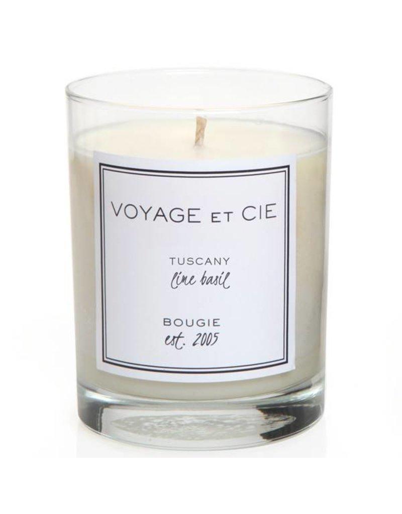 Voyage et Cie Voyage et Cie Capri - Lime Basil Candle Black Box