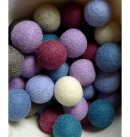 LooHoo LooHoo Single Wool Dryer Balls Assorted Colors