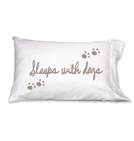 Faceplant Dreams Faceplant Dreams Sleeps w/Dogs-Std (Single Pillow Case)