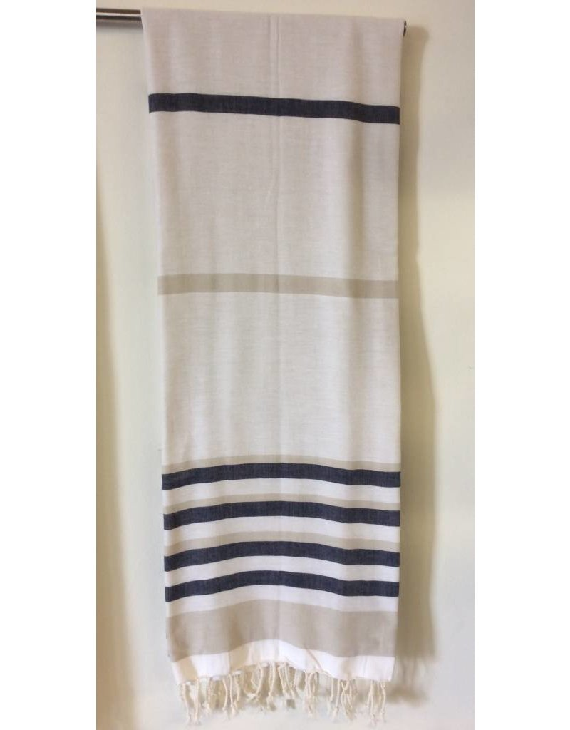 Smyrna Collection Smyrna Spirit Bath Towel Beige