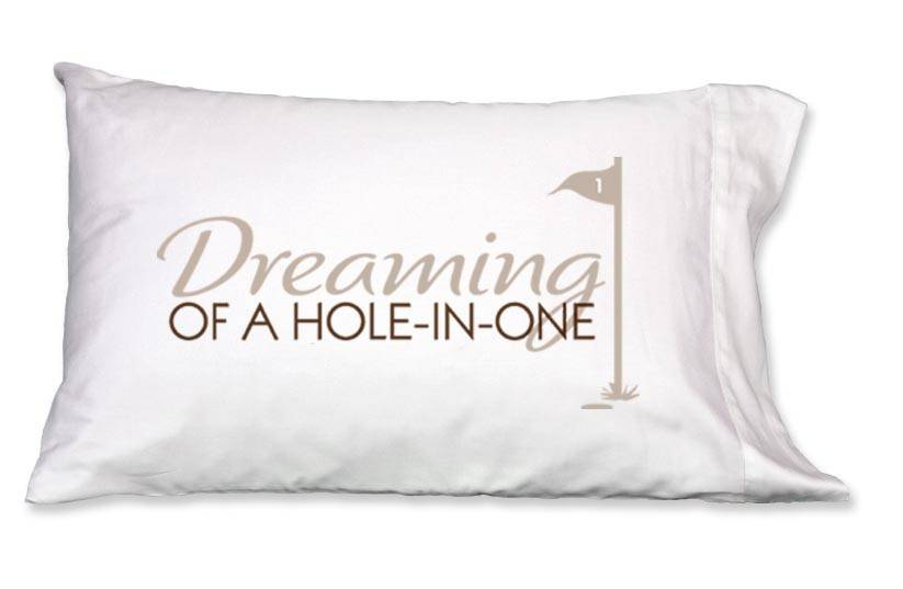 Faceplant Dreams Faceplant Dreams Hole-in-One -Std (Single Pillowcase)