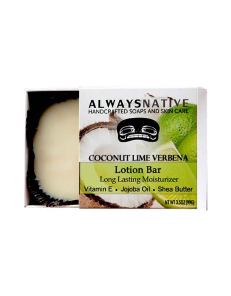 Always Native Always Native Lotion Bar Coconut Lime Verbena (SALE30)
