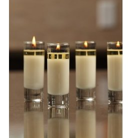 Mixture Mixture Rosemary Mint Votive Clear