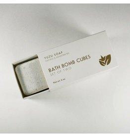 Yuzu Soap Yuzu Soap Lavender Sage Bath Bomb Cubes