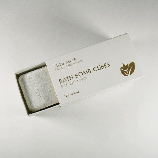 Yuzu Soap Yuzu Soap Eucalyptus Mint Bath Bomb Cubes