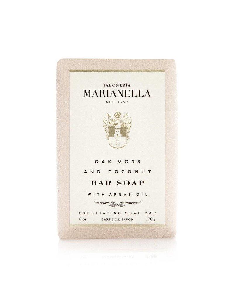 Jaboneria Marianella Marianella Oak Moss & Coconut Soap (Aura Elena)