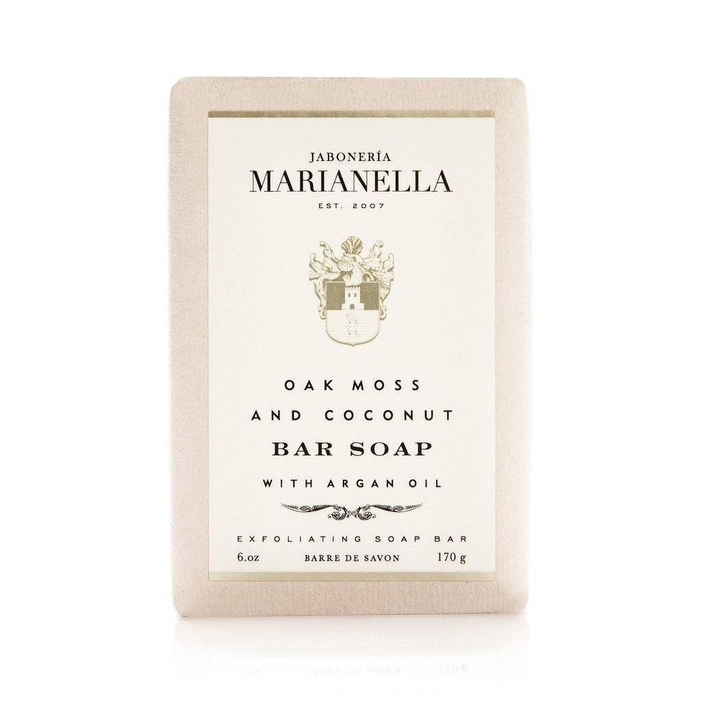 Jaboneria Marianella Marianella Oak Moss & Coconut Soap