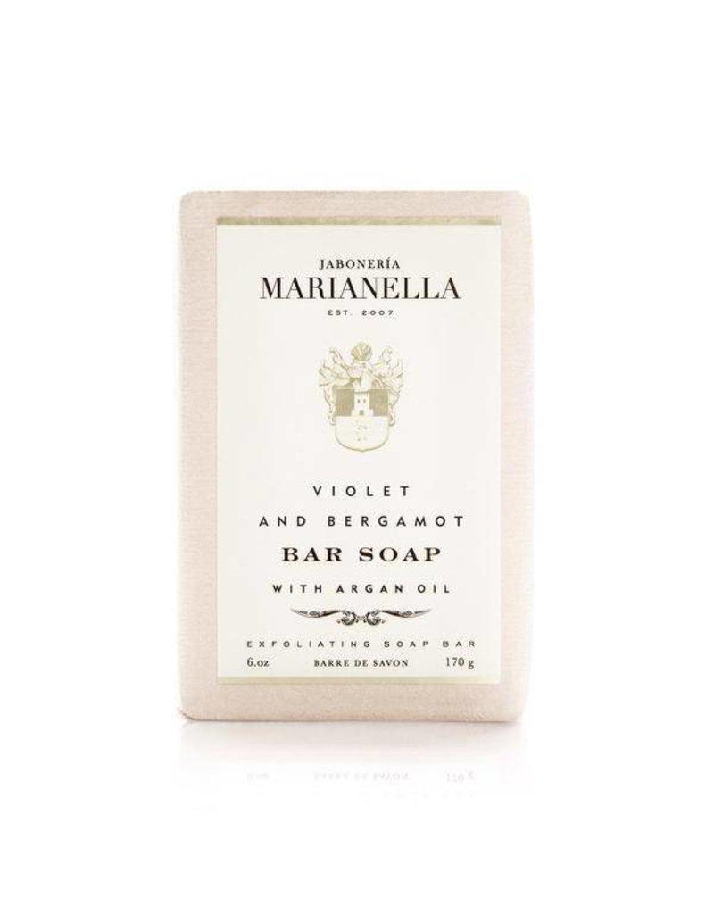 Jaboneria Marianella Marianella Violet & Bergamot Soap