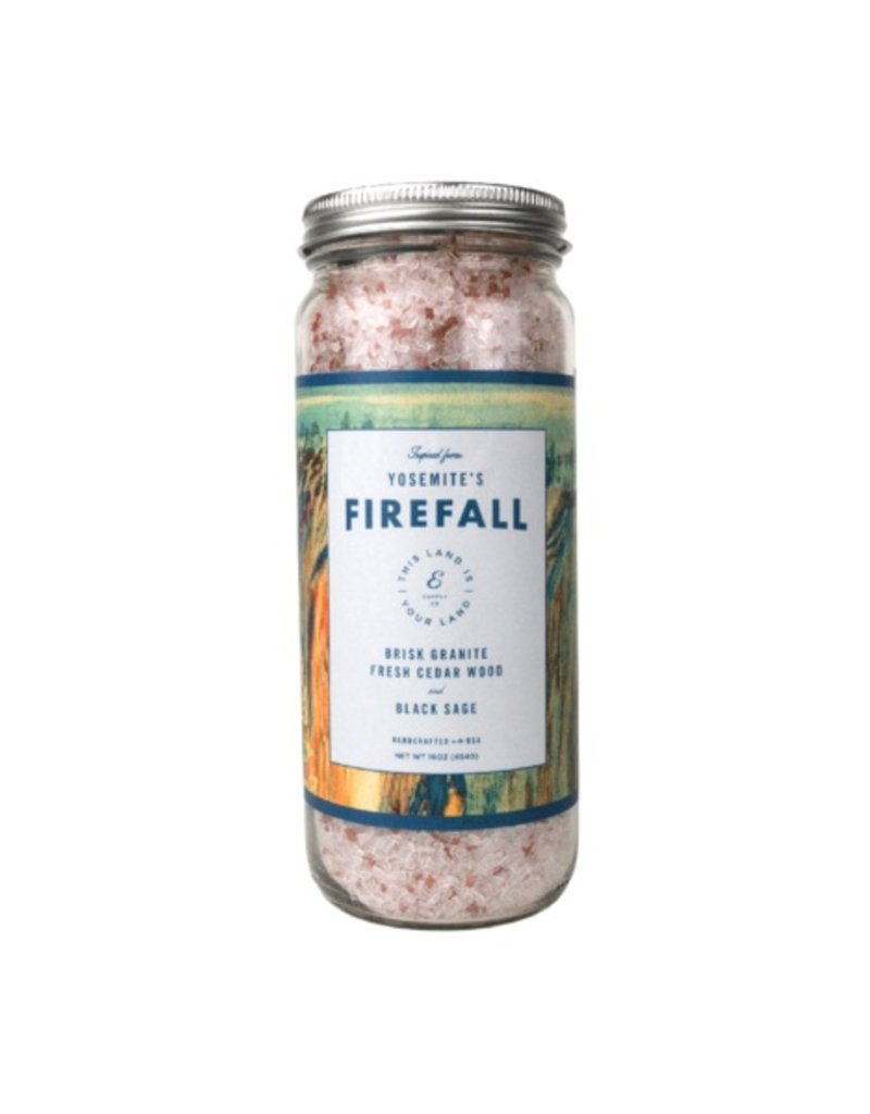 Ethics Supply Co Ethics Supply This Land Is Your Land Firefall Bath Salt Soak