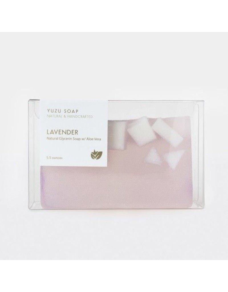 Yuzu Soap Yuzu Soap Glycerin Soap with Aloe Vera Lavender