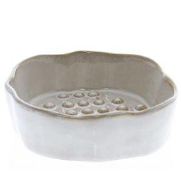 Homart HomArt Bower Round Ceramic Soap Dish