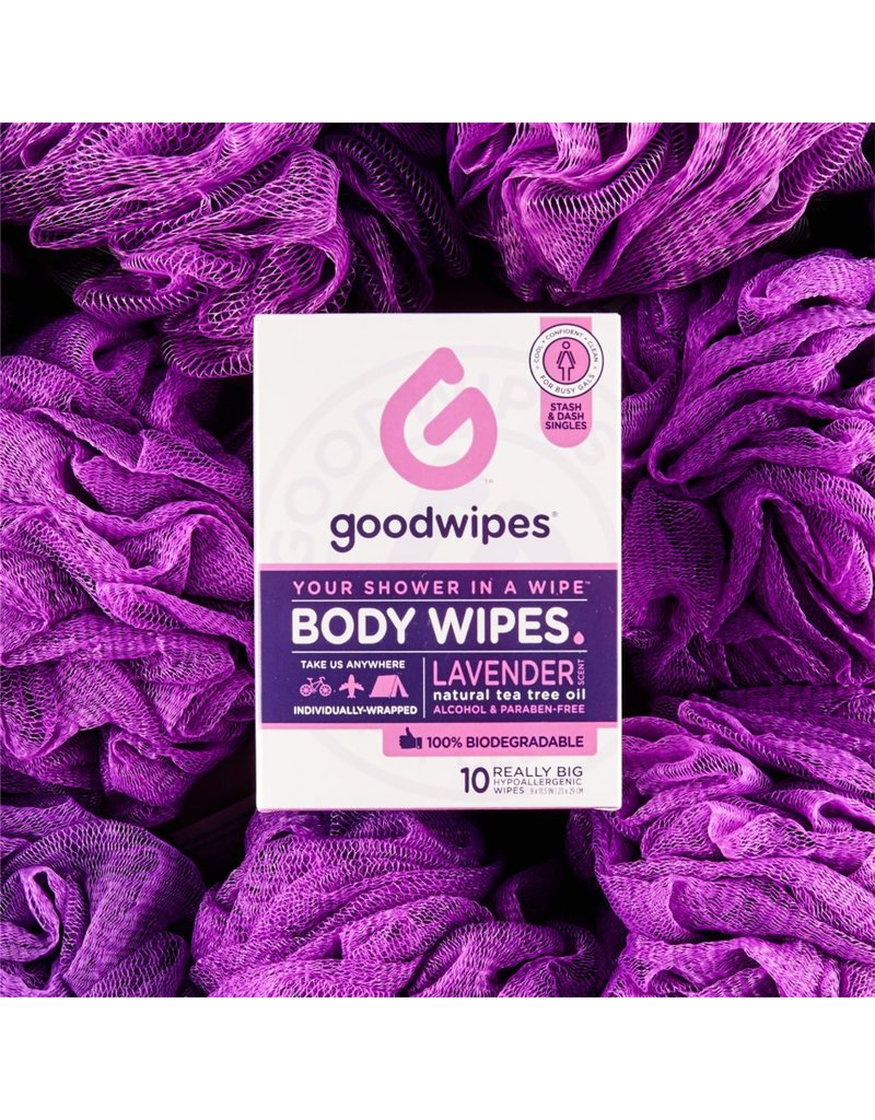Goodwipes Gals Body Wipes (10ct)