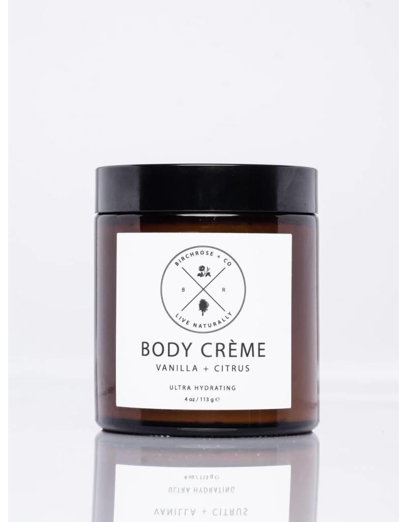 Birchrose + Co Birchrose+Co Vanilla + Citrus Body Creme