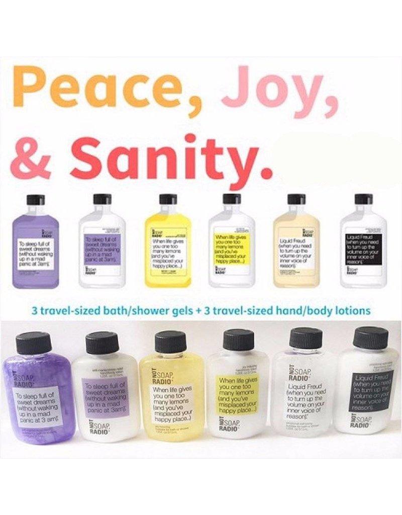 Not Soap Radio Not Soap Radio Peace Joy Sanity (SALE40)