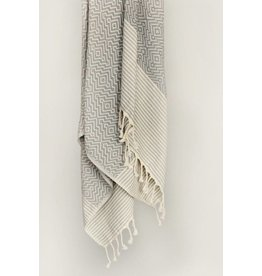 Smyrna Collection Smyrna Yucca Peshtemal Towel Grey