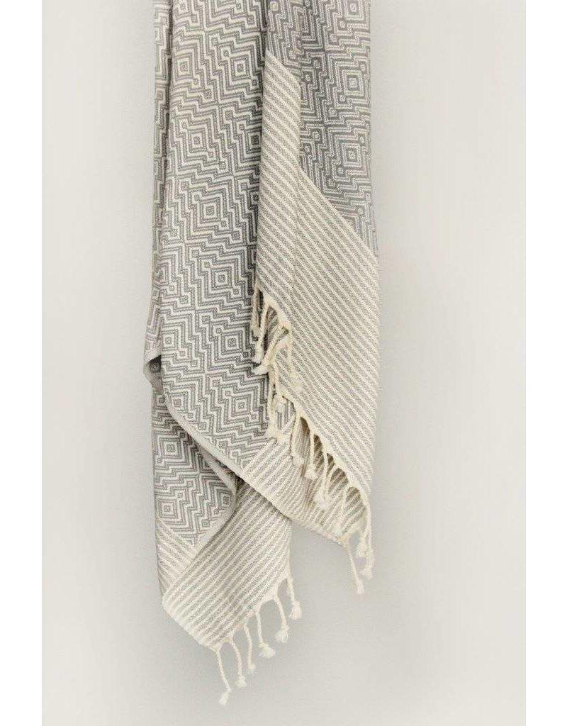 Smyrna Collection Smyrna Yucca Peshtemal Towel Grey