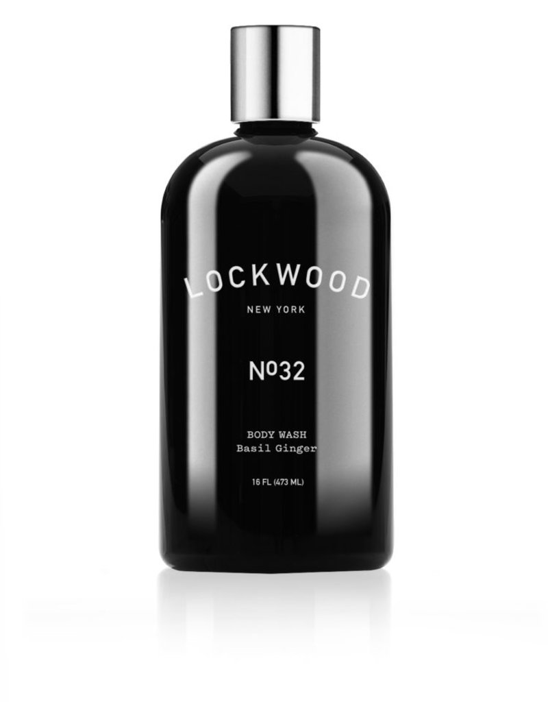 Lockwood New York Lockwood NY No.32 Ginger Basil Body Wash