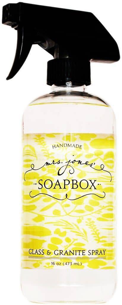 Mrs Jones Soapbox Mrs Jones Soapbox Glass & Granite Spray (SALE)