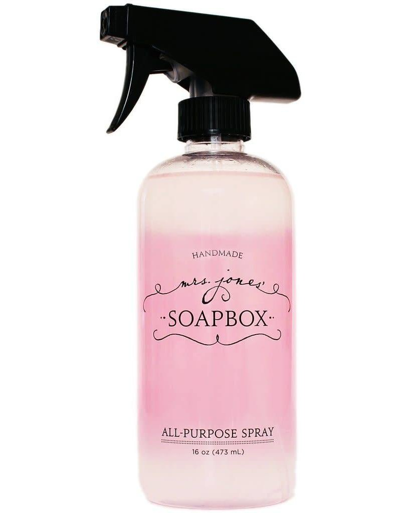 Mrs Jones Soapbox Mrs Jones Soapbox All Purpose Spray