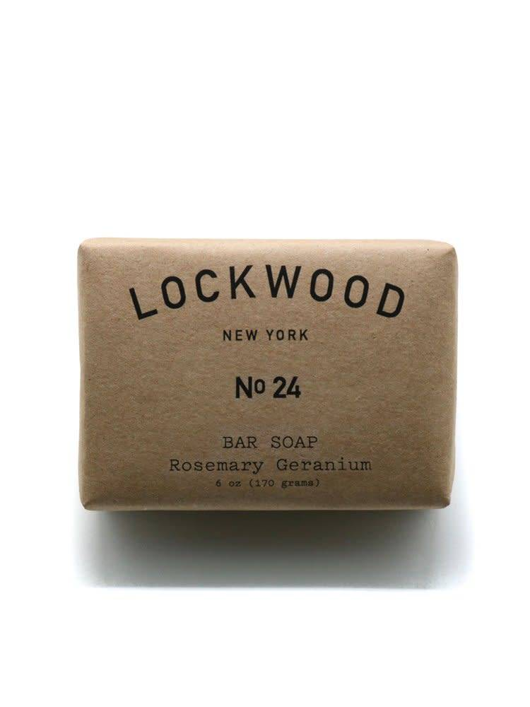 Lockwood New York Lockwood NY No.24 Rosemary Geranium Bar Soap