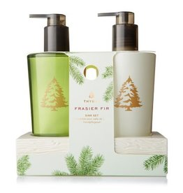 Take Away Soap Porto Thymes Frasier Fir Ceramic Caddy Sink Set