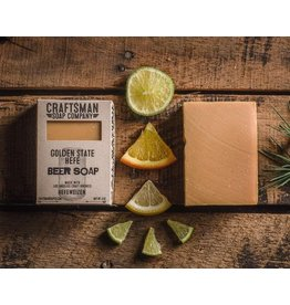 Craftsman Soap Co Craftsman Golden State Hefe Beer Soap