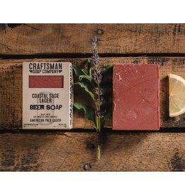 Craftsman Soap Co Craftsman Coastal Sage Lager Beer Soap