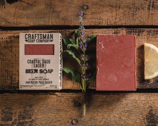 Craftsman Soap Co Craftsman Coastal Sage Lager Beer Soap