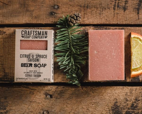 Craftsman Soap Co Craftsman Citrus & Spruce Saison Beer Soap