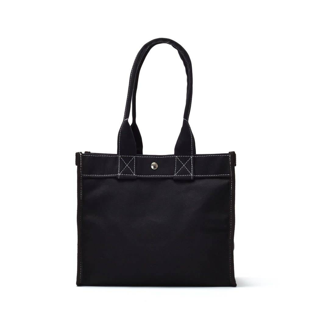 Utility Canvas Mini Field Bag - Black