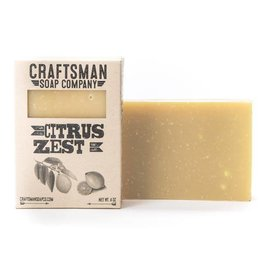 Craftsman Soap Co Craftsman Citrus Zest Soap