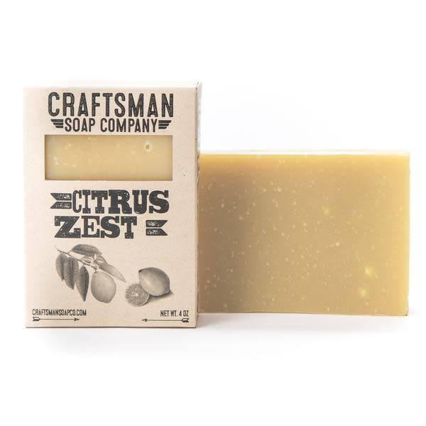 Craftsman Soap Co Craftsman Citrus Zest Soap