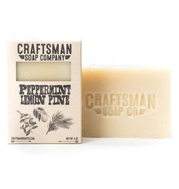 Craftsman Soap Co Craftsman Peppermint Lemon Pine Soap