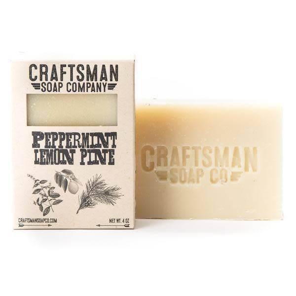 Craftsman Soap Co Craftsman Peppermint Lemon Pine Soap