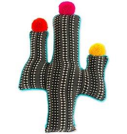 Shiraleah Shiraleah Cactus Pillow (black)