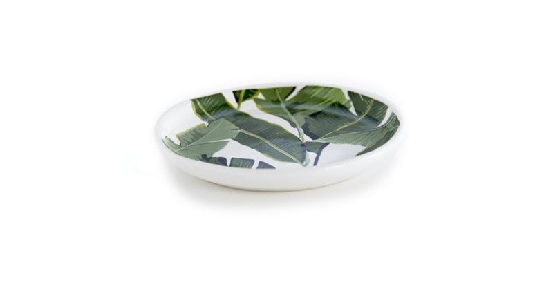 Shiraleah Shiraleah Leaves Trinket Dish